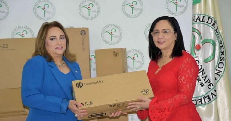 AFP Popular dona 30 computadoras al Comape