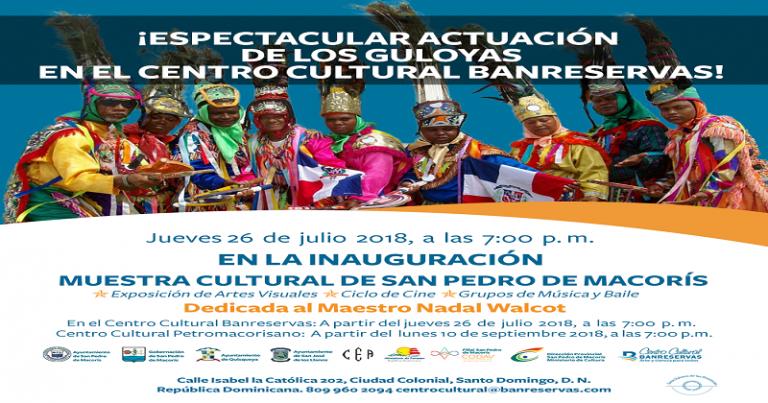 BR presenta muestra cultural de San Pedro