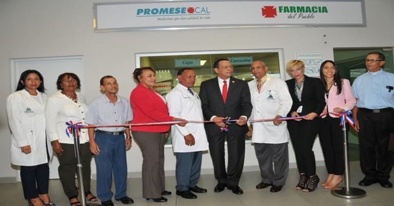 Promese abre farmacia en Marcelino Vélez Santana