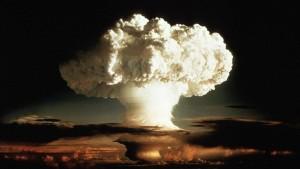 Una explosión