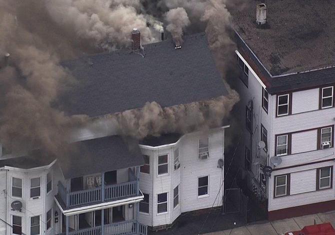 Explosiones en Lawrence