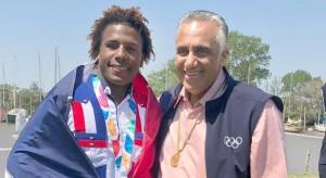 Corniel gana oro en los Juegos Olímpicos