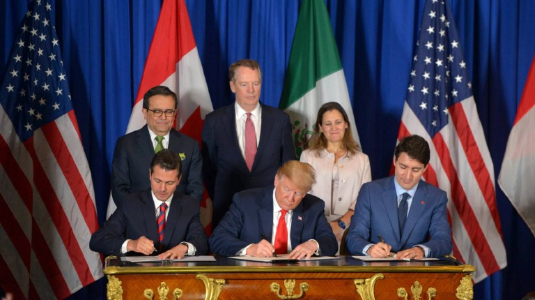 EE.UU, México y Canada firman nuevo acuerdo comercial