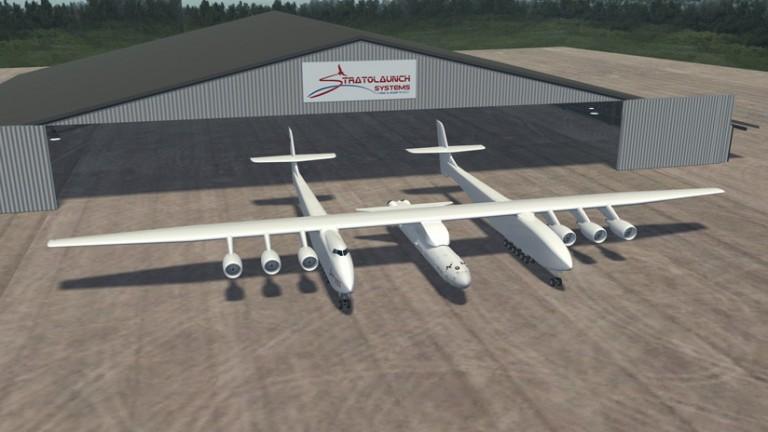 Stratolaunch El avión más grande del mundo