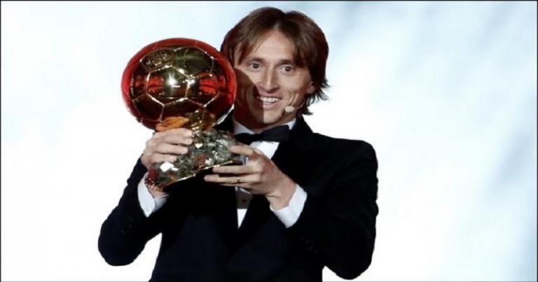 Luka Modric gana el Balón de Oro 2018-1
