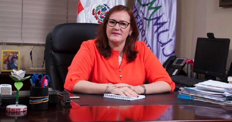 Ministra de la Mujer, Janet Camilo