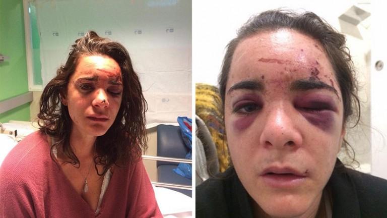 Violan joven estudiante estadounidense en Madrid