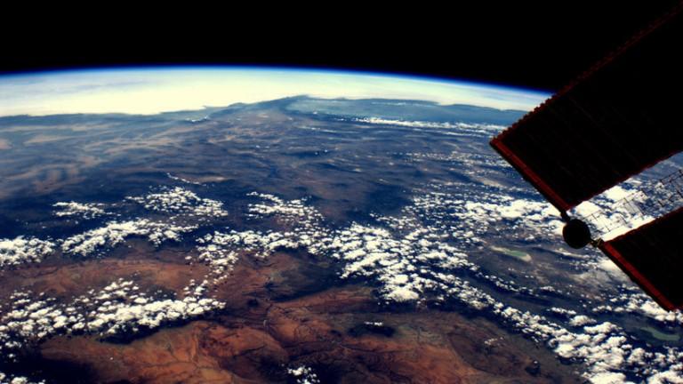 Vista de la Tierra desde Estación Espacial