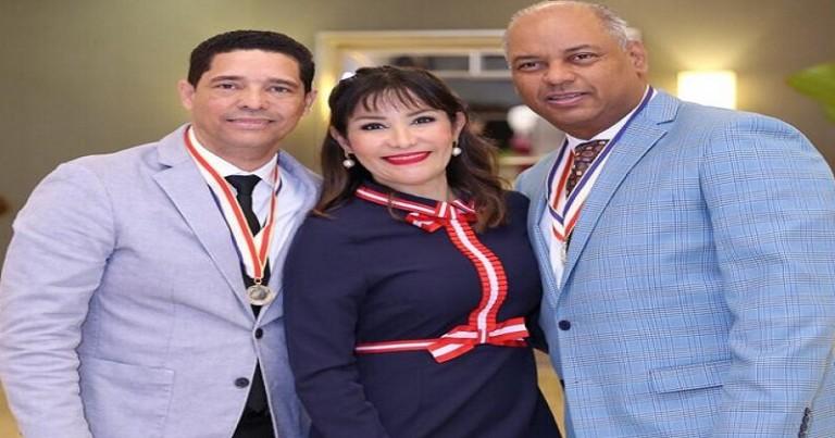 Font-Frías junto a los doctores Eliezer Cruz Álvarez y Rafael Draper
