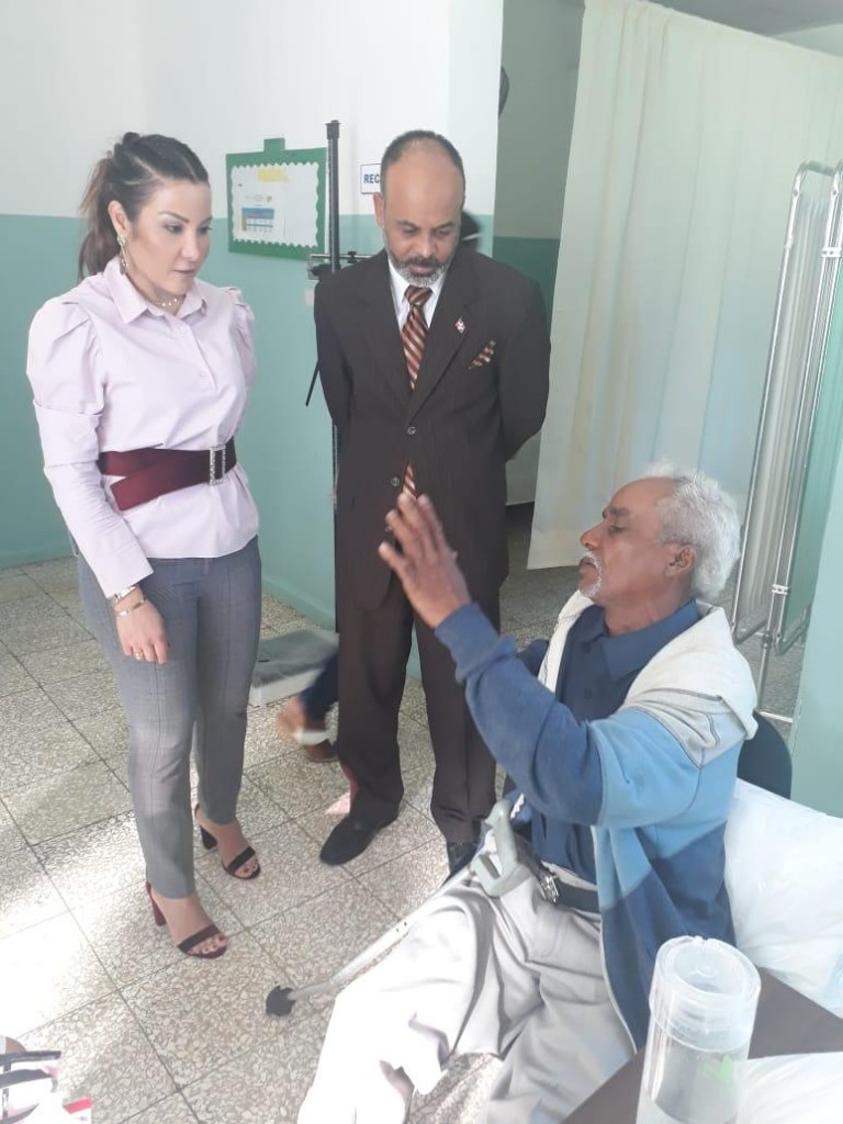 Font-Frías supervisa hospitales