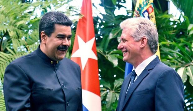 Maduro y Díaz-Canel