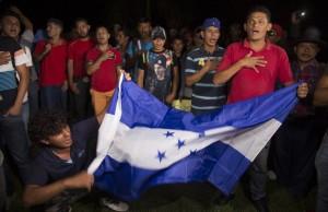 Nueva caravana de hondureños