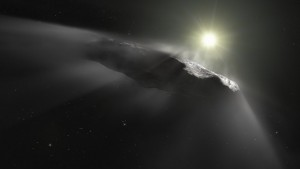 Primer asteroide interestelar Oumuamua