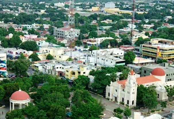 Vista ciudad de Baní