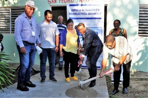 Inician construcción iglesia Yaguate