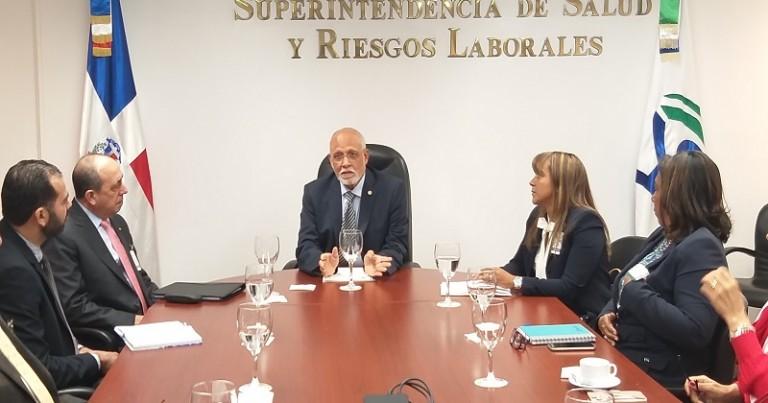 Pedro Luis Castellanos en reunión con ARS