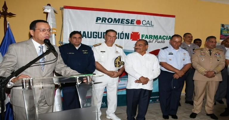 Promese abre una farmacia en Base Aérea PP