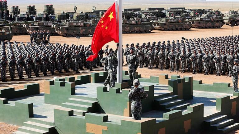 Soldados chinos