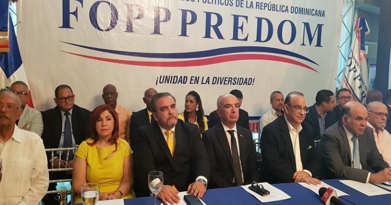 Wessin Chávez presidente del Fopppredom