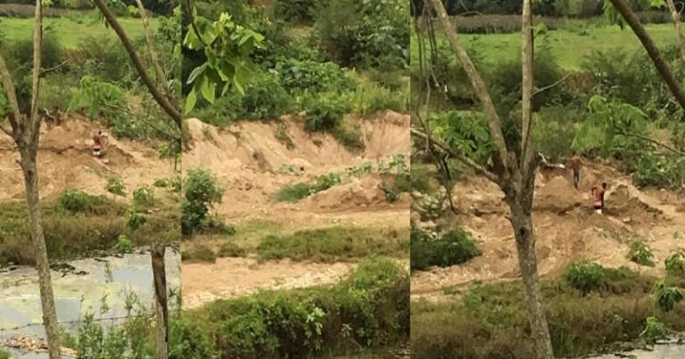 Destruyen río Los Brazos