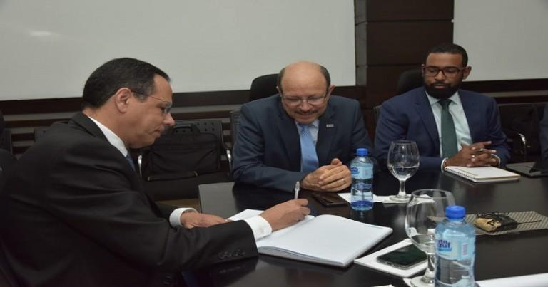Peña Mirabal y Jáquez Gil se reúnen