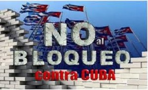 No bloqueo a Cuba