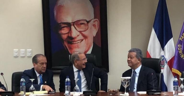 Reunion del CP-PLD, lunes 1 de abril 2019