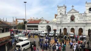 Unos 200 muertos en atentados Sri Lanka