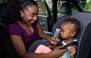Seguridad de los niños en los automoviles