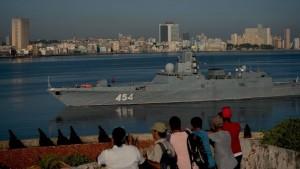 La fragata Admiral Gorshkov de la Armada rusa