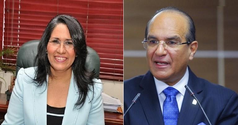 Maritza Hernández y Julio César Castaños Guzmán