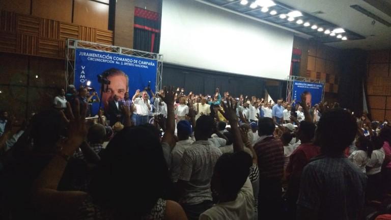 Abinader juramenta comando campaña
