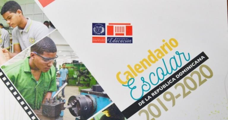 Educación presenta calendario escolar 2019-2020