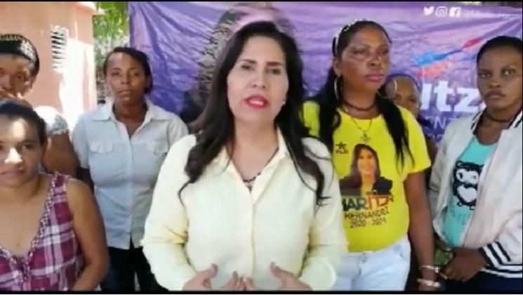 Maritza Hernandez en Bahoruco