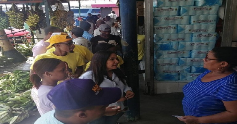 Maritza promete apoyo a la producción nacional