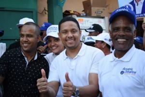 Candidato a diputado Elias Matos