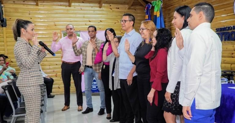 Font-Frías juramenta comisión Ética Pública SRSM
