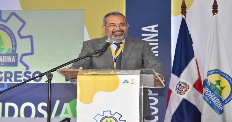 Hector Delgado, presidente COOPROHARINA