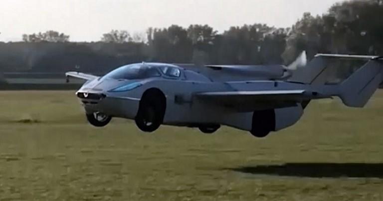 Aircar un auto volador