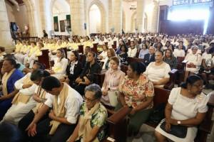 Asistentes a eucaristía por Día Mundial del Enfermo