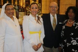 Font-Frías participa en eucaristía