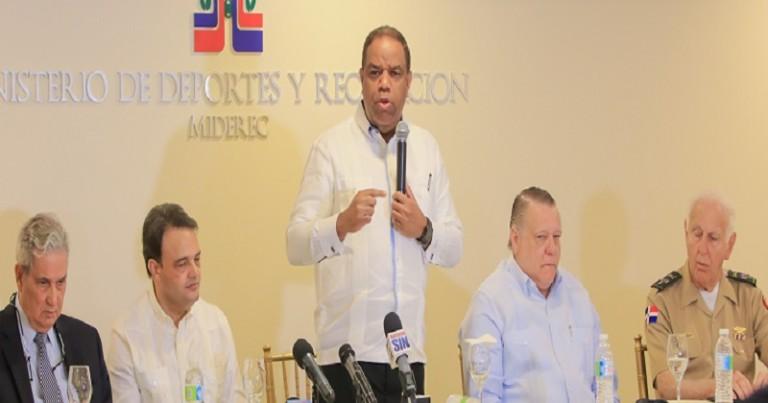 RD solicita sede XXV Juegos Centroamericanos y del Caribe 2026