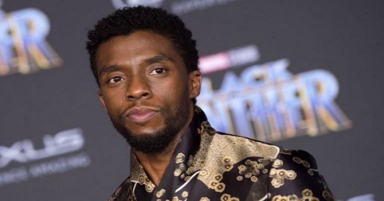 El actor Chadwick Boseman
