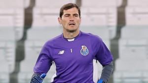El guarmeta Iker Casillas