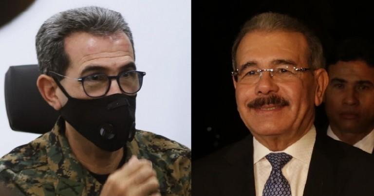 Luciano Díaz Morfa y Danilo Medina