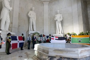 Digesett honra a Duarte con ofrenda floral