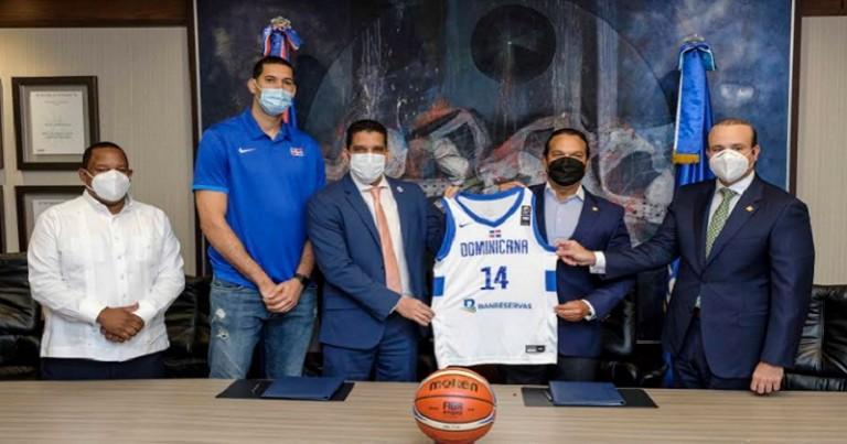 Banreservas anuncia apoyo a la Selección Nacional de Baloncesto