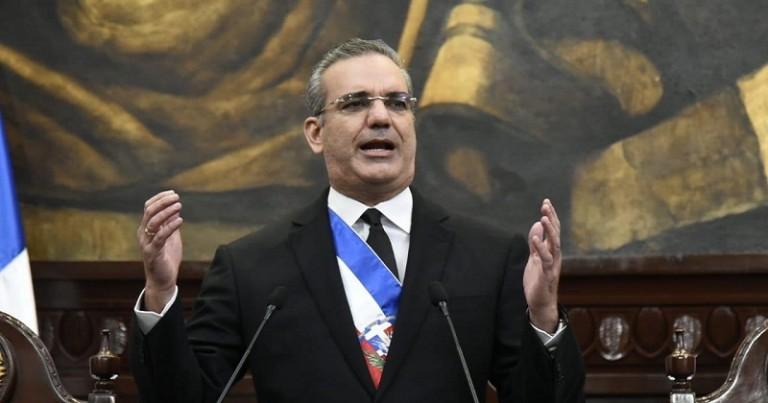 Presidente Abinader rinde cuentas al país