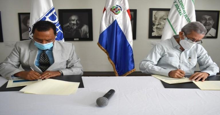 Bibliteca Nacional y CES acuerdan colaboración