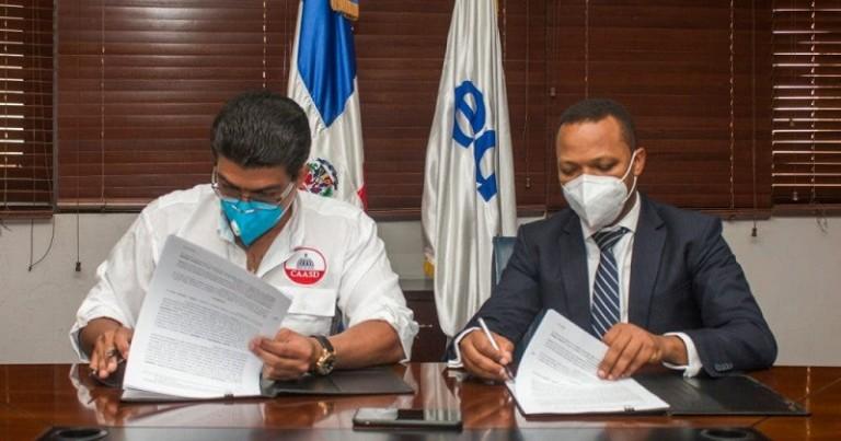 EDESUR y CAASD firman acuerdo
